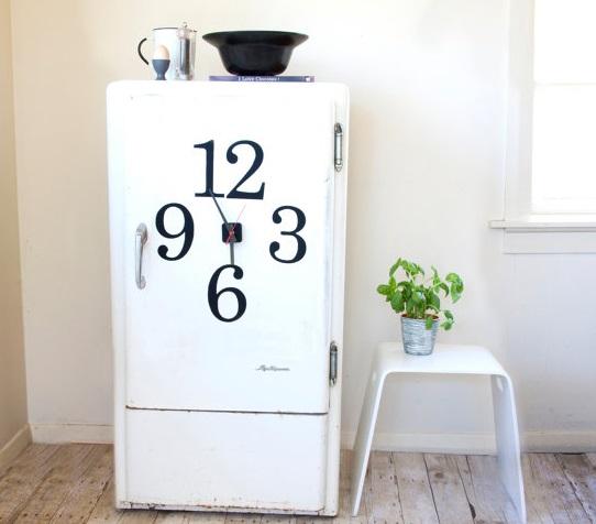 Magnetic Fridge Clock