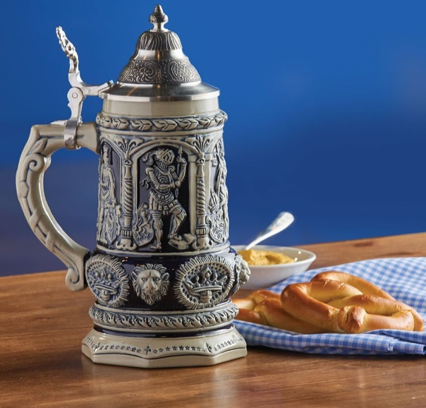 The Emperor Karl V's Bierkrug Beer Stein
