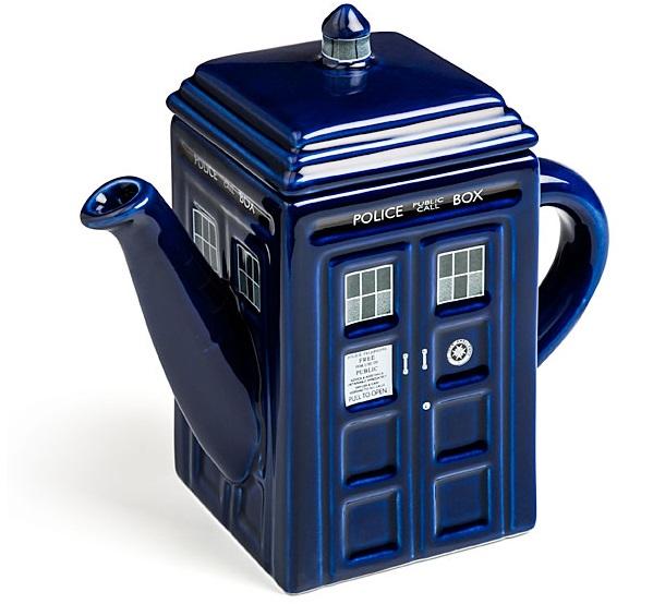 TARDIS Ceramic Teapot
