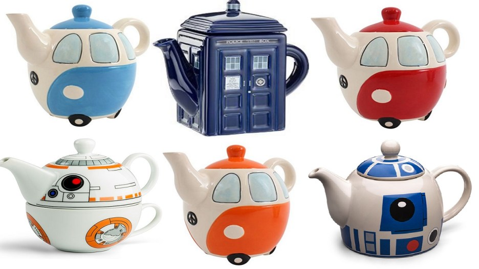 Top 10 Amazing, Nerdy and Unusual Ceramic Teapots