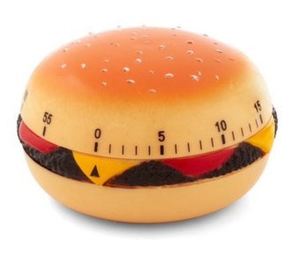 Cheeseburger Kitchen Timer
