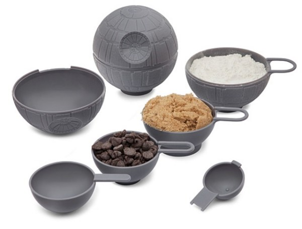 Death Star Measuring Cup Set