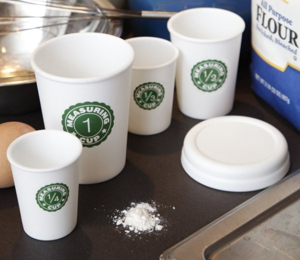 Coffee Cup Measuring Cup Set
