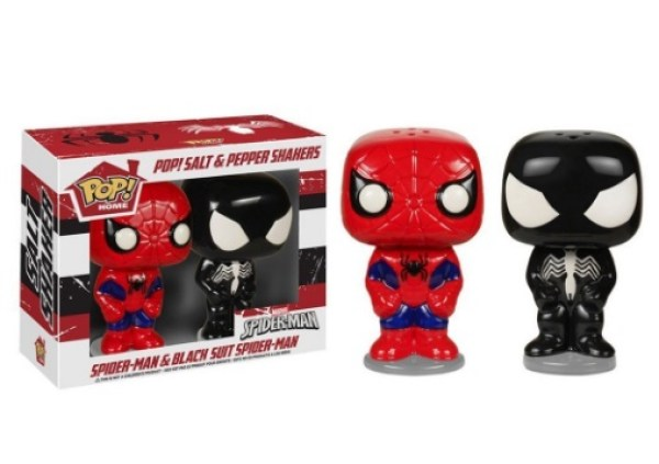 Spider-Man & Venom Salt & Pepper Pots