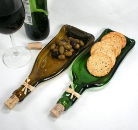 Wine Bottle Serving Platter