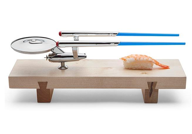 U.S.S. Enterprise Sushi Set