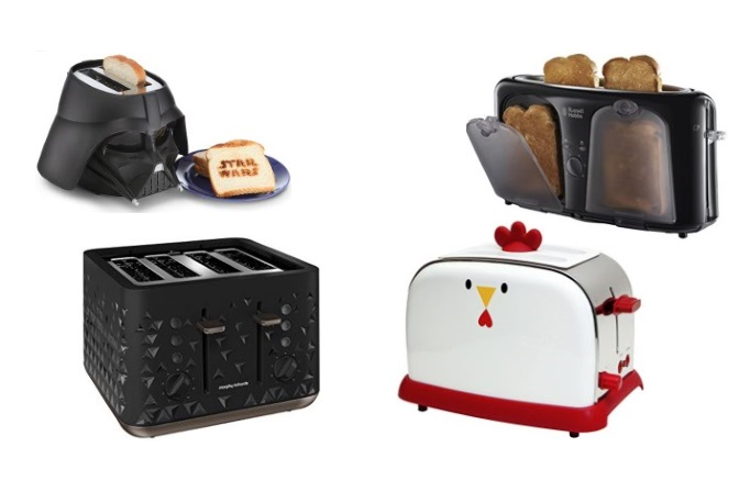 Top 10 Amazing, Nerdy and Unusual Toasters