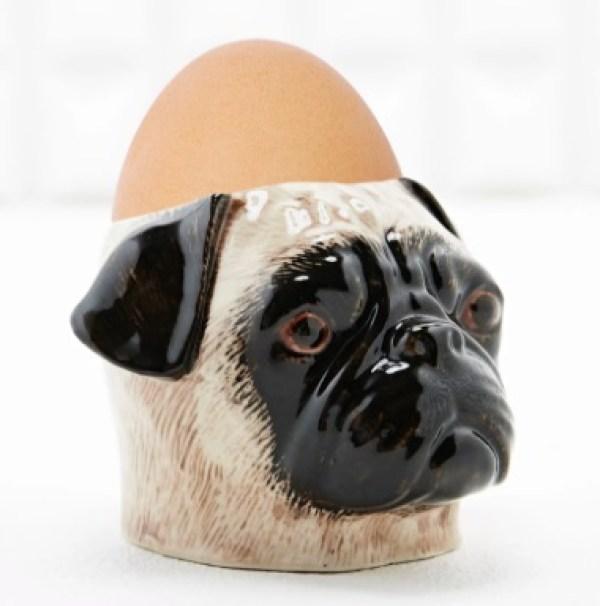 Pug Egg Cup