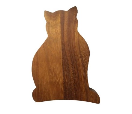 Cat Cutting and Chopping Board