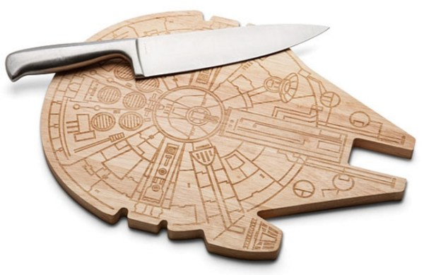 Millennium Falcon Wooden Cutting and Chopping Board