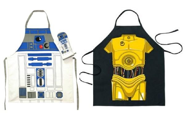 R2-D2 & C-3PO Kitchen Aprons