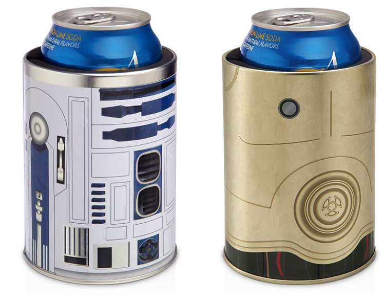 R2-D2 & C-3PO Can Coolers