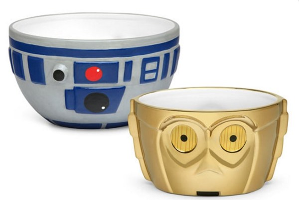 R2-D2 & C-3PO Ceramic Bowl Set
