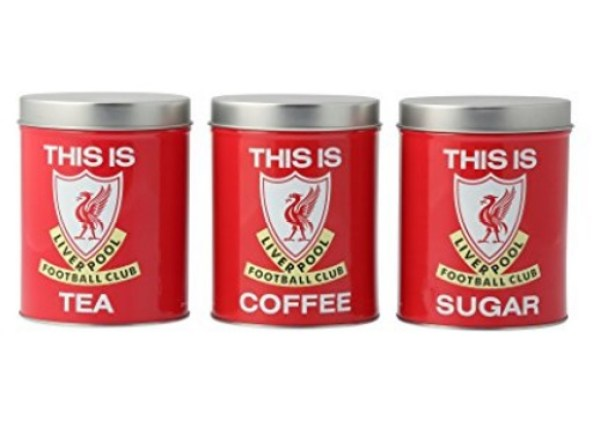 LFC Coffee, Tea & Sugar Canisters