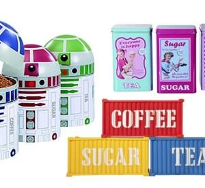 Top 10 Unusual Tea, Coffee and Sugar Kitchen Storage Container Jars