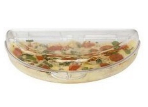 Clear Microwave Omelette Pan