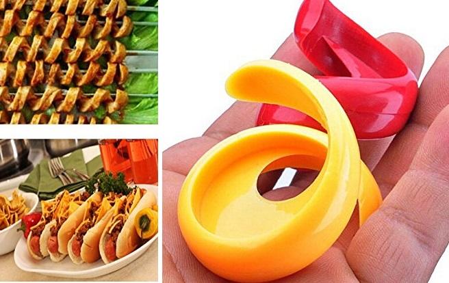 Spiral Hot Dog Cutter