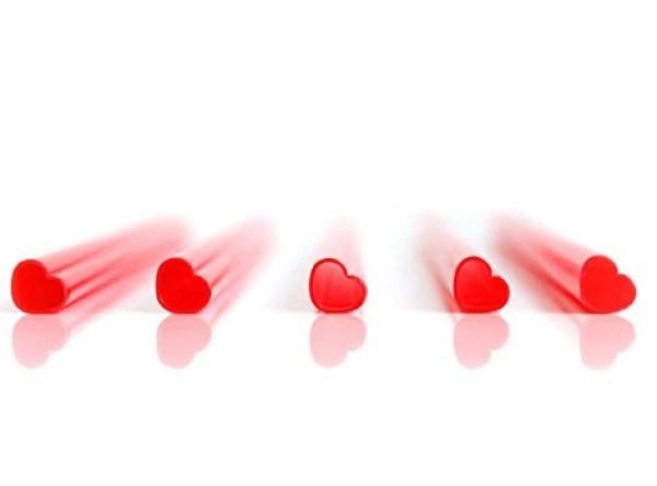 Heart Shaped Drinking Straws
