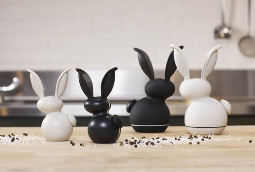 Chef'n G'Rabbit Salt & Pepper Mill Grinders