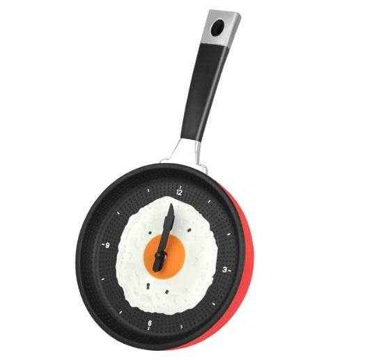 Frying Pan Kitchen Wall Clock