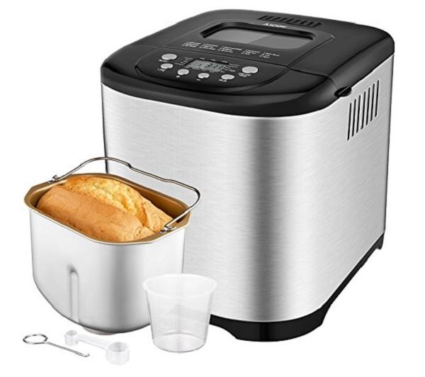Aicok 2.2LB Programmable Bread Machine