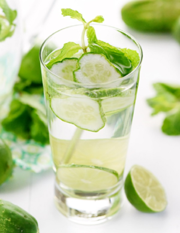 Cucumber Mint Infused Water