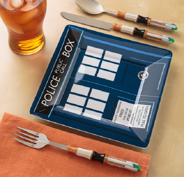 Doctor Who Tardis Dinner Plate
