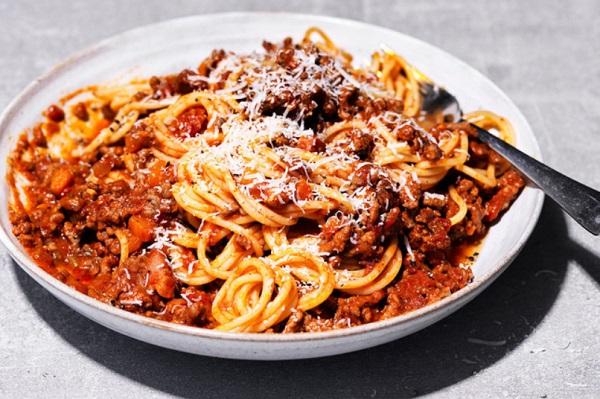Beer Spaghetti Bolognese
