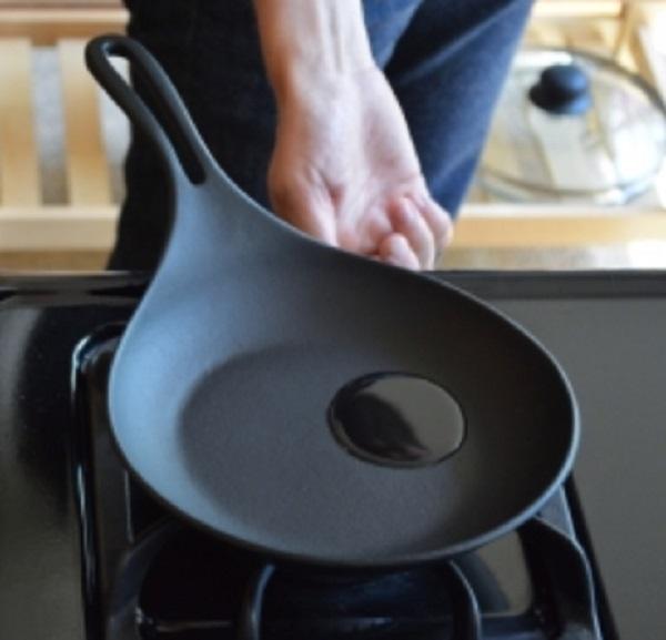 Iwachu Cast Iron Omelette Fry Pan