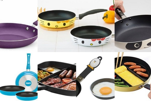 Ten Amazing and Unusual Frying Pans Every Kitchen Should Own
