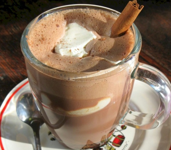 Hazelnut Hot Chocolate