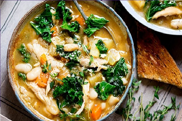 Tuscan Style Chicken Soup