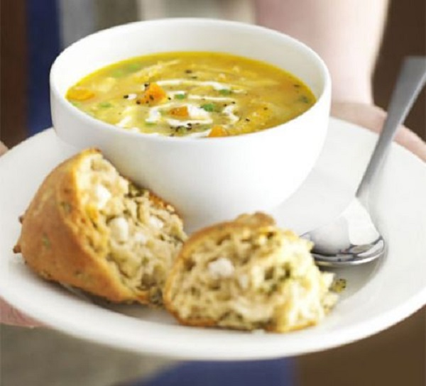 Classic Roast Chicken Soup