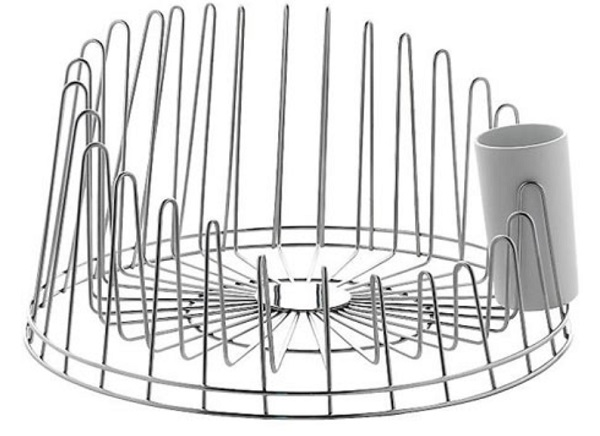 A tempo Dish Rack designed by Pauline Deltour