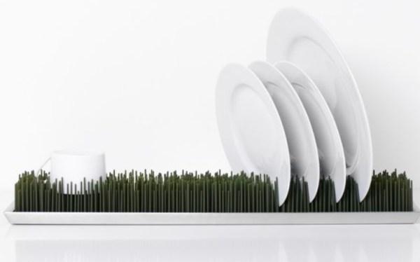 Grassy Drying Dish Rack