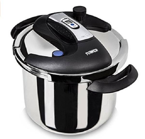 Tower Pro One-Touch Pressure Cooker