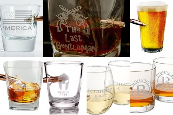 Ten Amazing Glasses With Bullets in Them for Shots of Fun