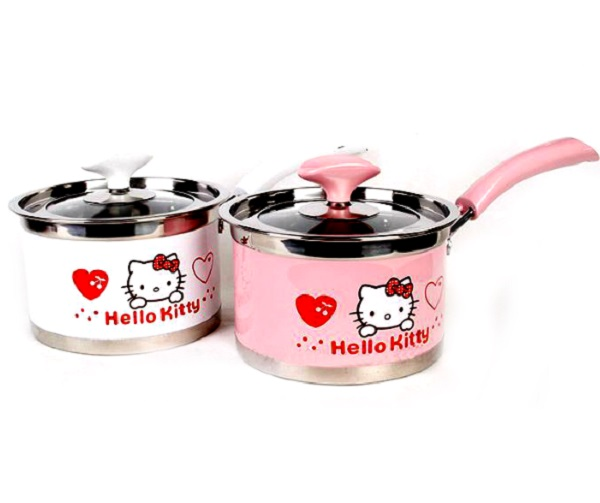 Hello Kitty Stainless Steel Saucepans