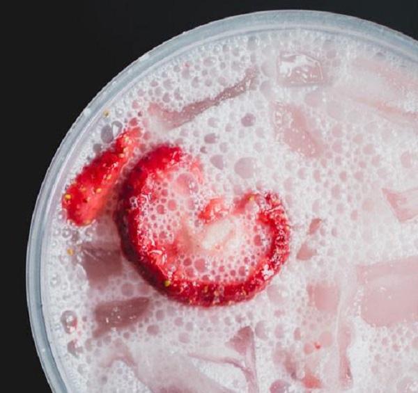 Pink Drink Protein Shake