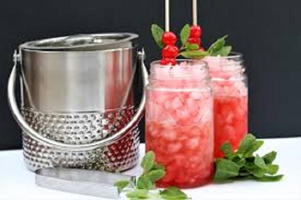 Skinny Mint Julep Cocktail