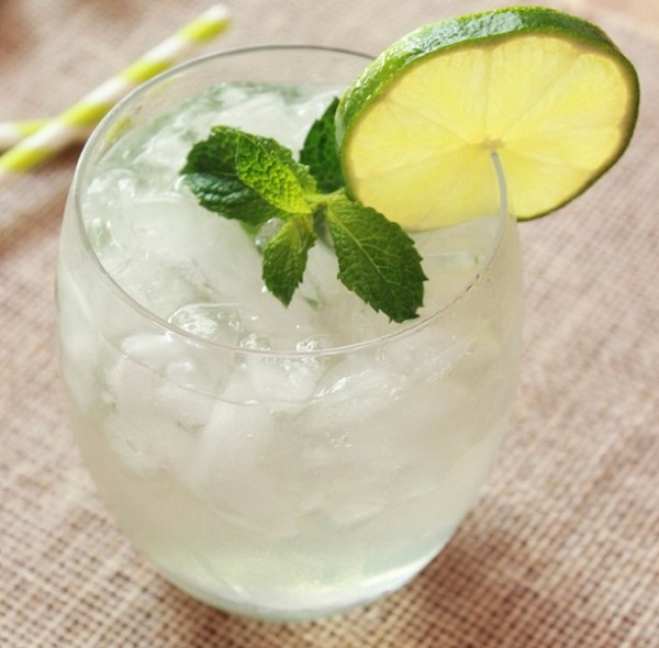 Skinny Mint Mojito Cocktail