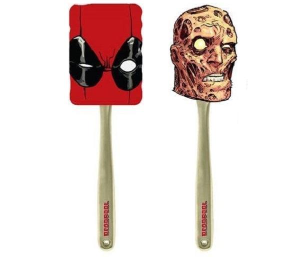 Deadpool Silicone Spatulas