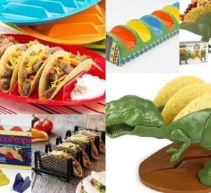 Ten of the Strangest and Very Best Taco Holders Money Can Buy