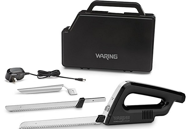 Waring WEK200 Rechargeable and Cordless Electric Knife