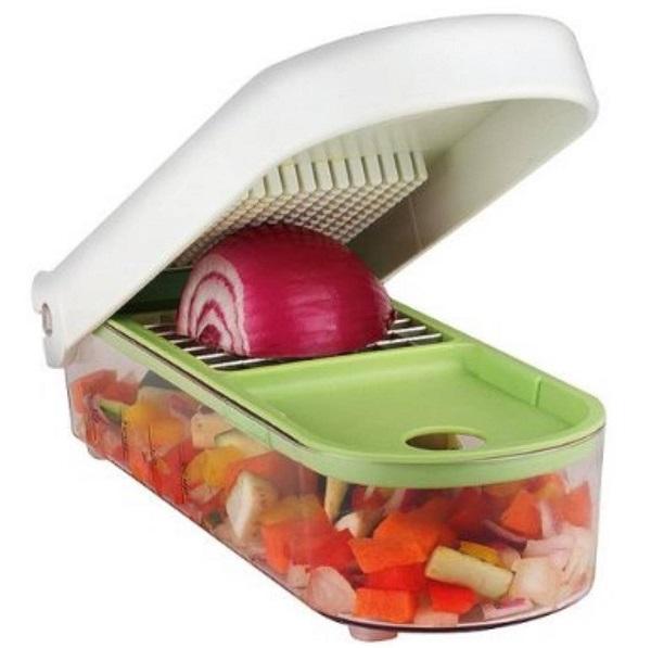 Easy Slice 'N' Dice Food Cutting Tray