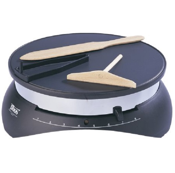Paderno World Cuisine 14 Inch Electric Crepe Maker