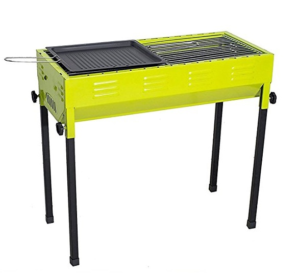 Camp Solutions Foldable and Portable Outdoor BBQ Grill
