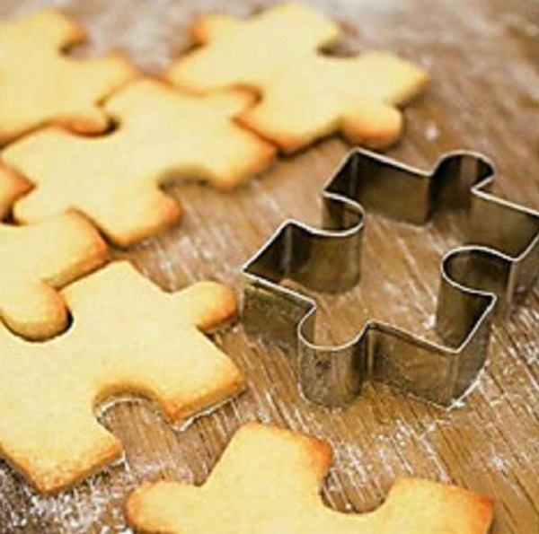 Puzzle Shaped Cookie Cutter