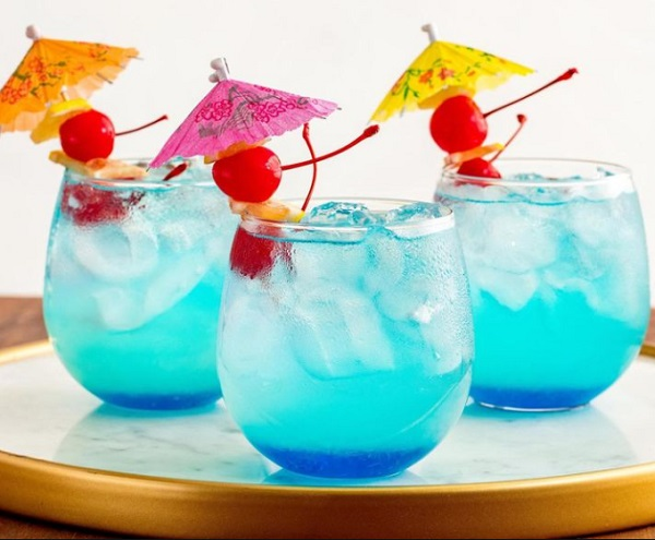 Blue Mermaid Lemonade