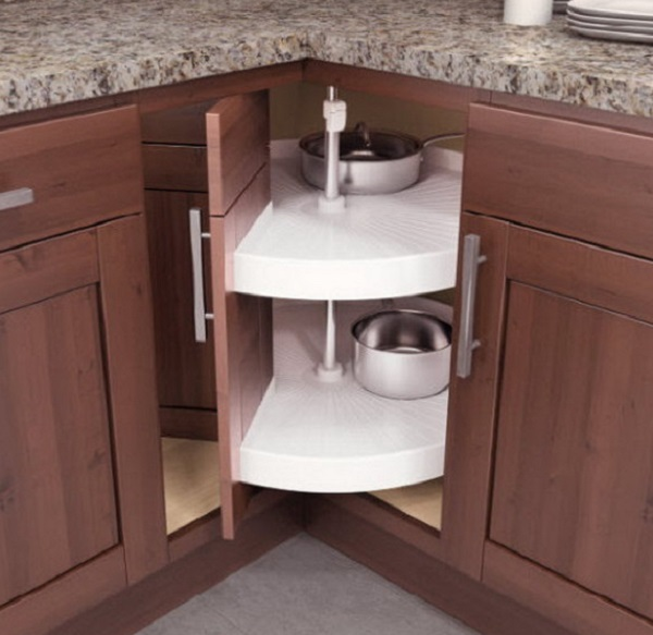 Lazy Susan Style Kitchen Corner Unit